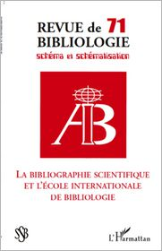 Marie - La bibliographie scientifique et l'école internationale de b