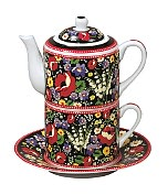 Product Image. Title: Vera Bradley Poppy Fields Tea for One