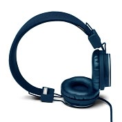 Product Image. Title: Urbanears Plattan On-Ear Stereo Headphones - Indigo