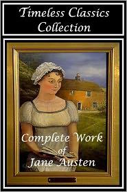 Jane Austen - Jane Austen Complete Work (SPECIAL NOOK EDITION)
