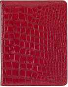 Product Image. Title: Darwin Red Croc Folio Case for iPad