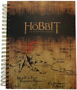 Product Image. Title: The Hobbit Spiral Sketchbook