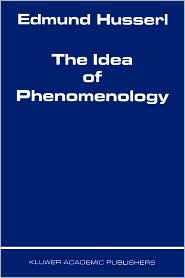/The Idea of Phenomenology/