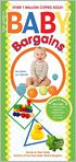 Book Cover Image. Title: Baby Bargains, Author: Denise Fields