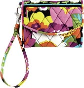 Product Image. Title: Vera Bradley VaVa Bloom Super Smart Phone Wristlet