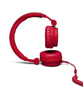 Product Image. Title: Urbanears Zinken On-Ear Stereo Headphones - Tomato