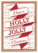 Product Image. Title: HAVE A HOLLY JOLLY CHRISTMAS CHRISTMAS BOXED CARD