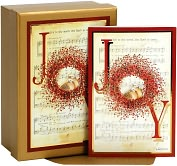 Product Image. Title: Joy To The World Tip On Christmas Boxed Card