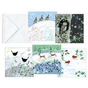 Product Image. Title: WINTER WONDERLAND FOLIO CHRISTMAS BOXED CARD