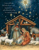 Product Image. Title: HOLY FAMILY CHRISTMAS BOXED CARD