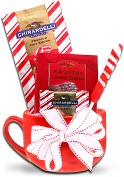 Product Image. Title: Alder Creek Ghirardelli Holiday Latte Mug