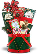 Product Image. Title: Alder Creek Little Drummer Boy Gift Basket