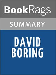BookRags - David Boring by Daniel Clowes l Summary & Study Guide