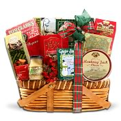 Product Image. Title: Alder Creek Gourmet Traditions Gift Basket