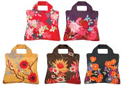 Product Image. Title: Bloom Reusable Tote Bags, Set of 5