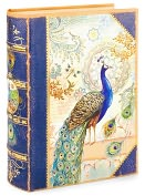 Product Image. Title: Small Peacock Book Box