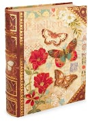 Product Image. Title: Medium Butterfly Book Box