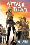 Book Cover Image. Title: Attack on Titan 4, Author: by Hajime Isayama