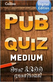 Suzanne Collins - Collins Pub Quiz (Medium)