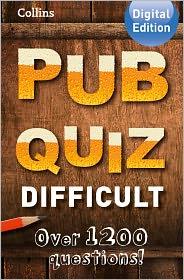 Suzanne Collins - Collins Pub Quiz (Difficult)