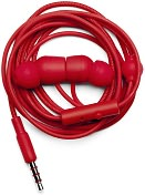 Product Image. Title: Urbanears Bagis In-Ear Stereo Headphones - Tomato