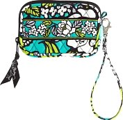 Product Image. Title: Vera Bradley Island Blooms Tech Fabric Case (5X3.25X .5)