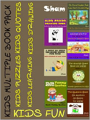 Sham - Kids Multiple Book Pack For Christmas : Kids Quotes Kids Knowledge Kids Drawing Books Pack
