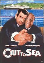 Out To Sea starring Jack Lemmon: DVD Cover