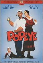 Popeye starring Robin Williams: DVD Cover