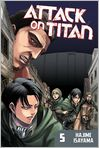 Book Cover Image. Title: Attack on Titan 5, Author: by Hajime Isayama