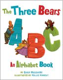 The Three Bears ABC by Grace Maccarone: Book Cover