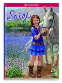 Saige (Girl of the Year 2013 #1) by Jessie Haas: Book Cover