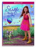 Saige Paints the Sky (Girl of the Year 2013 #2) by Jessie Haas: Book Cover