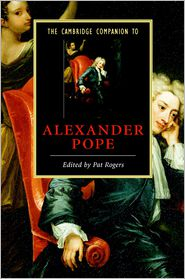 Pat Rogers - The Cambridge Companion to Alexander Pope
