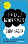 Book Cover Image. Title: Fault in Our Stars, Author: by John Green