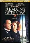 Video/DVD. Title: The Remains of the Day