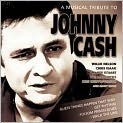 CD Cover Image. Title: A Musical Tribute To Johnny Cash