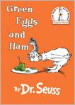 Book Cover Image. Title: Green Eggs and Ham, Author: by Dr. Seuss