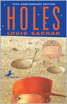 Book Cover Image. Title: Holes, Author: by Louis Sachar