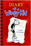 Book Cover Image. Title: Diary of a Wimpy Kid (Diary of a Wimpy Kid Series #1), Author: by Jeff Kinney