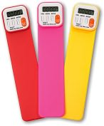 Product Image. Title: Mark My Time Assorted Bright Color Bookmark