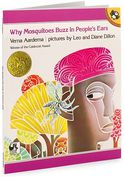 Book Cover Image. Title: Why Mosquitoes Buzz in People's Ears:  A West African Tale, Author: by Verna Aardema