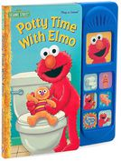 Book Cover Image. Title: Potty Time with Elmo:  7 Button Little Sound Book (Play-a-Song Series), Author: by Publications International Ltd. Staff,�Publications International Ltd. Staff