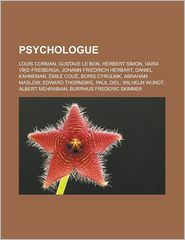 Psychologue: Louis Corman, Gustave le Bon, Herbert Simon,