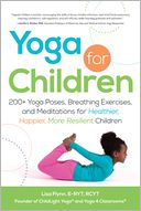 Yoga for Children by Lisa Flynn: Book Cover