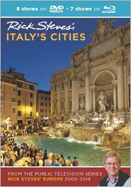 Rick Steves' Italy's Cities DVD & Blu-Ray 2000-2014