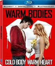 WARM BODIES on Blu-ray, DVD, and Digital