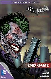Jason Alexander Derek Fridolfs - Batman: Arkham City: End Game #4 (NOOK Comics with Zoom View)