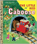 Book Cover Image. Title: The Little Red Caboose, Author: by Marian Potter