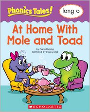 Liza Charlesworth - Phonics Tales: At Home With Mole and Toad (Long O)